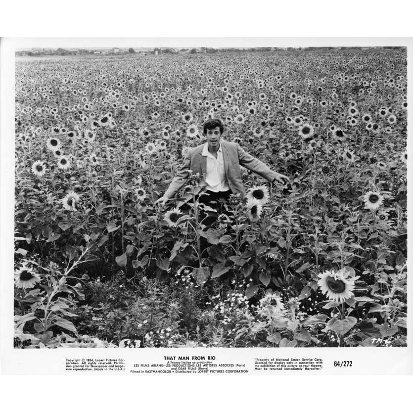 L'HOMME DE RIO Photo de film N1 20x25 cm - 1964 - Jean-Paul Belmondo, Philippe de Broca