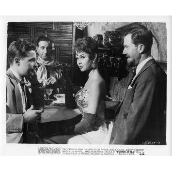 DOCTOR AT SEA Movie Still N3 8x10 in. - 1955 - Ralph Thomas, Brigitte Bardot