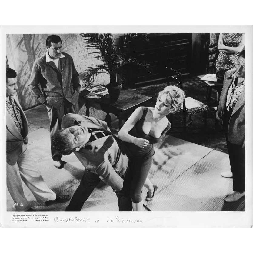 LA PARISIENNE Movie Still N2 8x10 in. - 1957 - Michel Boisrond, Brigitte Bardot