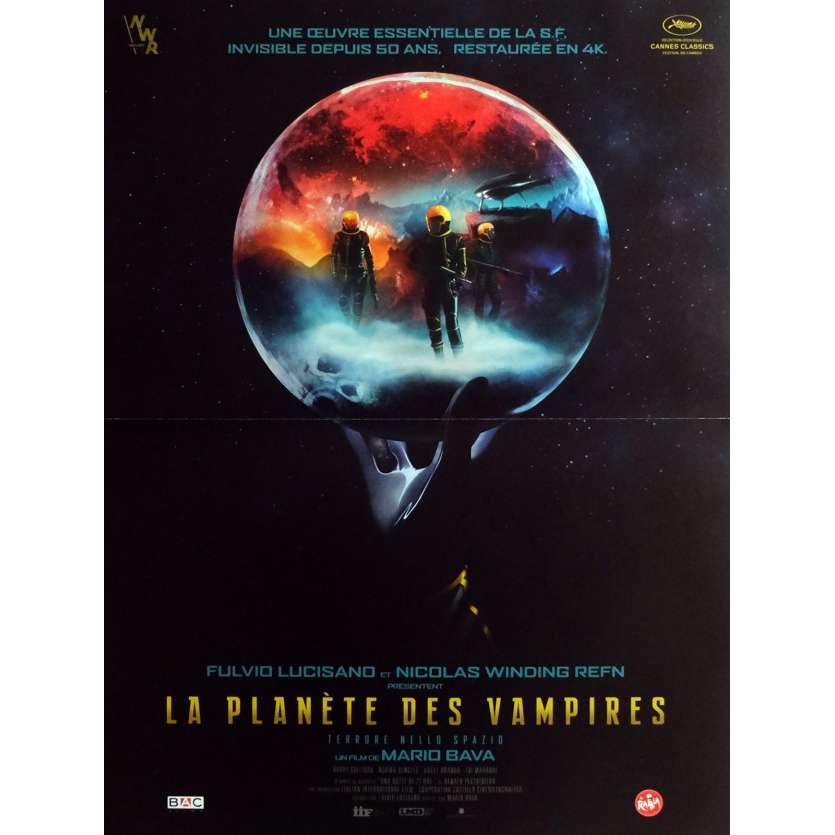 LA PLANETE DES VAMPIRES Affiche de film 40x60 cm - R2016 - Barry Sullivan, Mario Bava