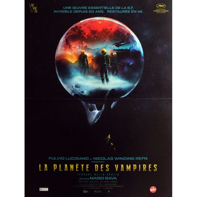 PLANET OF THE VAMPIRES Movie Poster 15x21 in. - R2016 - Mario Bava, Barry Sullivan
