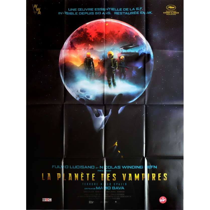PLANET OF THE VAMPIRES Movie Poster 47x63 in. - R2016 - Mario Bava, Barry Sullivan