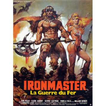 IRONMASTER Affiche française 40x60 '83 French Vintage Movie Poster Mad Max