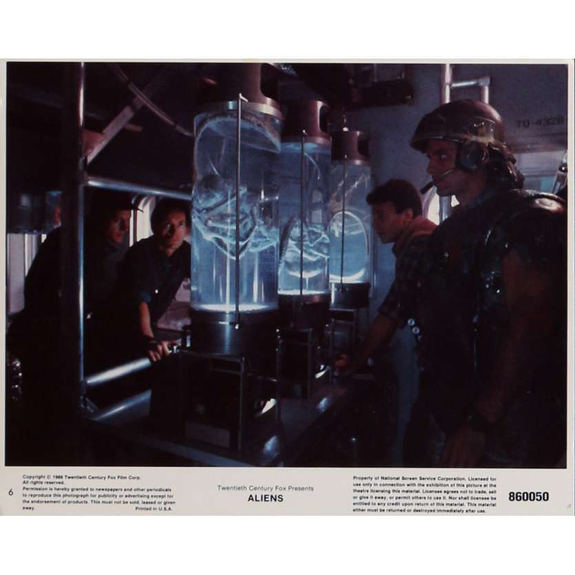 ALIENS Lobby Card N6 8x10 in. - 1986 - James Cameron, Sigourney Weaver