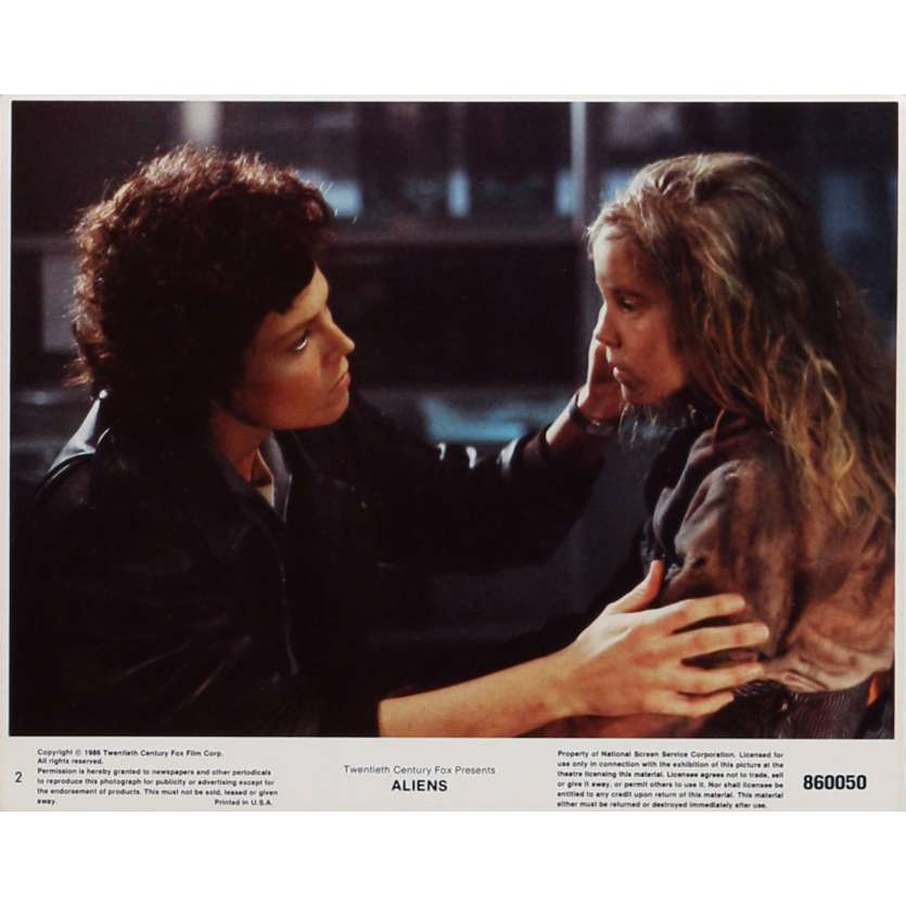 ALIENS Lobby Card N2 8x10 in. - 1986 - James Cameron, Sigourney Weaver