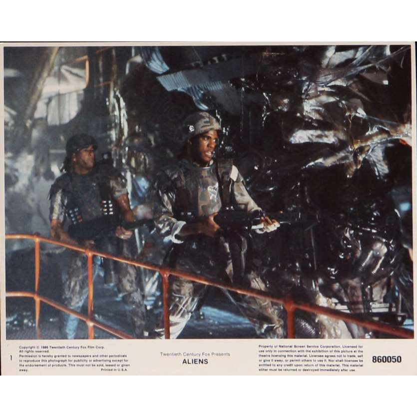 ALIENS Lobby Card N1 8x10 in. - 1986 - James Cameron, Sigourney Weaver