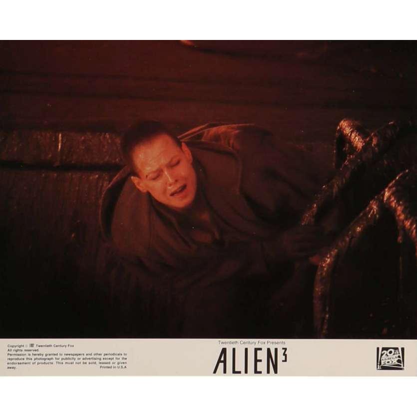 ALIEN 3 Lobby Card N7 8x10 in. - 1992 - David Fincher, Sigourney Weaver