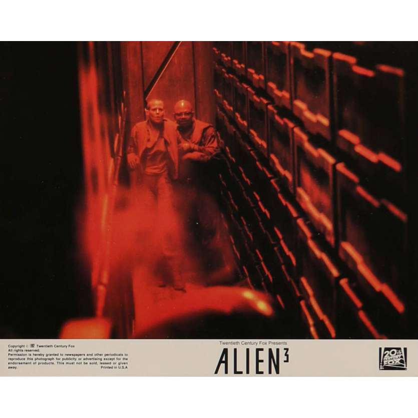 ALIEN 3 Lobby Card N4 8x10 in. - 1992 - David Fincher, Sigourney Weaver