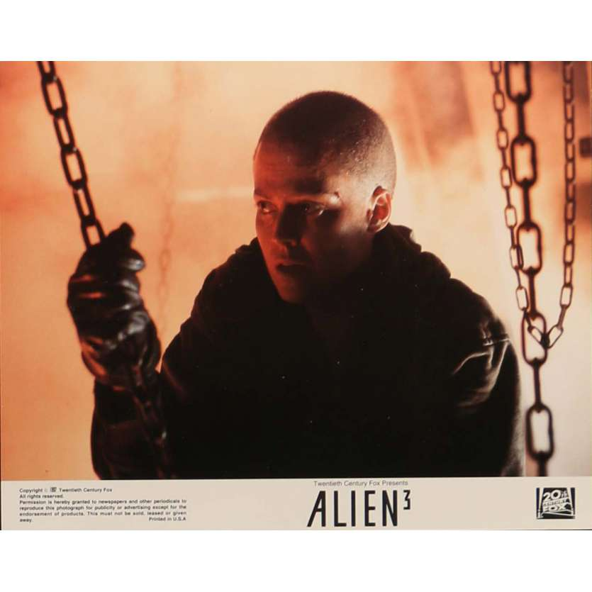 ALIEN 3 Lobby Card N2 8x10 in. - 1992 - David Fincher, Sigourney Weaver