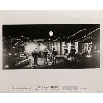 2001 A SPACE ODYSSEY Movie Still N19 8x10 in. - R1974 - Stanley Kubrick, Keir Dullea