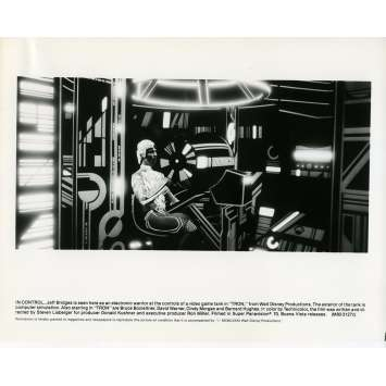 TRON Movie Still N08 8x10 in. - 1982 - Steven Lisberger, Jeff Bridges