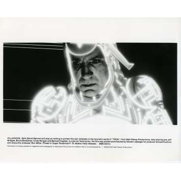 TRON Photo de presse N09 20x25 cm - 1982 - Jeff Bridges, Steven Lisberger