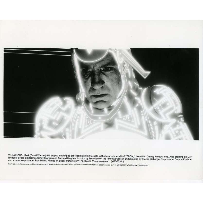 TRON Photo de presse N09 20x25 cm - 1982 - Jeff Bridges, Steven Lisberger