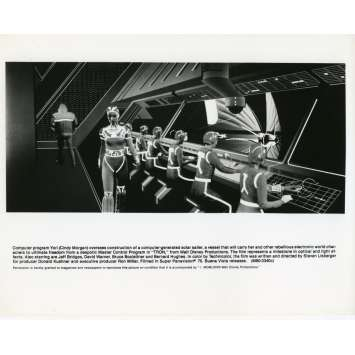 TRON Photo de presse N07 20x25 cm - 1982 - Jeff Bridges, Steven Lisberger