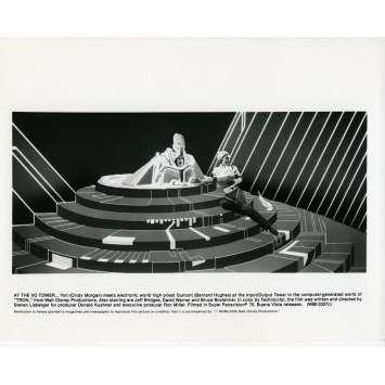 TRON Movie Still N06 8x10 in. - 1982 - Steven Lisberger, Jeff Bridges