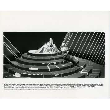 TRON Photo de presse N06 20x25 cm - 1982 - Jeff Bridges, Steven Lisberger