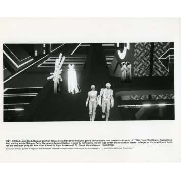 TRON Photo de presse N04 20x25 cm - 1982 - Jeff Bridges, Steven Lisberger