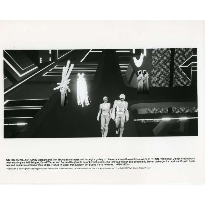 TRON Photo de presse N04 20x25 cm - 1982 - Jeff Bridges, Steven Lisberger