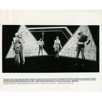 TRON Photo de presse N03 20x25 cm - 1982 - Jeff Bridges, Steven Lisberger