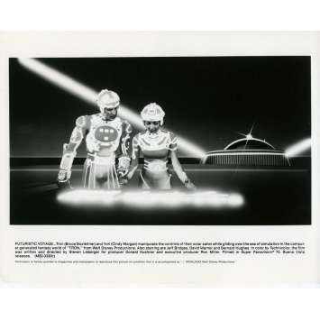 TRON Movie Still N02 8x10 in. - 1982 - Steven Lisberger, Jeff Bridges