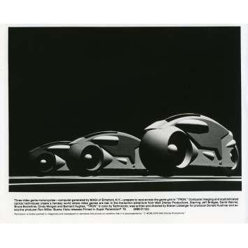 TRON Movie Still N01 8x10 in. - 1982 - Steven Lisberger, Jeff Bridges