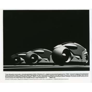 TRON Photo de presse N01 20x25 cm - 1982 - Jeff Bridges, Steven Lisberger
