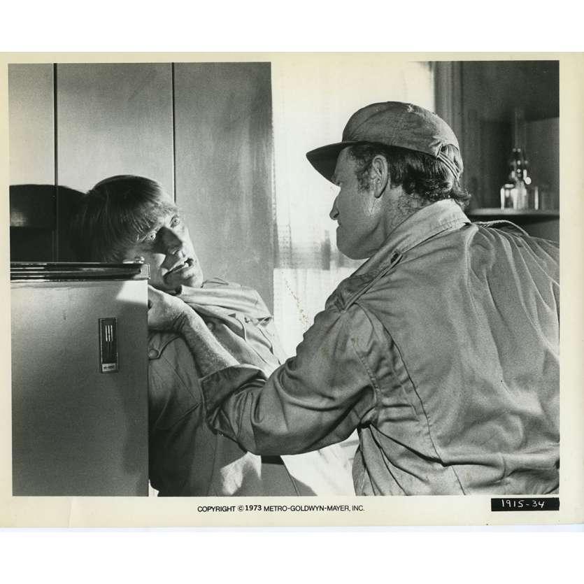 SOLEIL VERT Photo de presse N14 20x25 cm - 1973 - Charlton Heston, Richard Fleisher