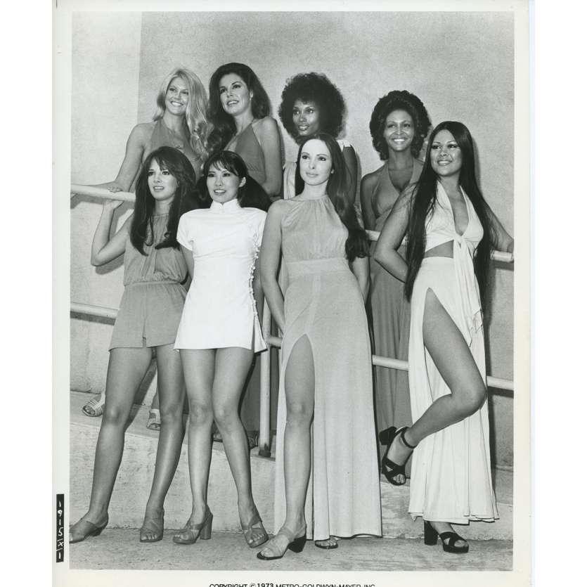 SOLEIL VERT Photo de presse N11 20x25 cm - 1973 - Charlton Heston, Richard Fleisher
