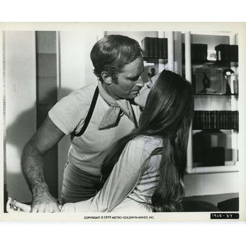 SOLEIL VERT Photo de presse N08 20x25 cm - 1973 - Charlton Heston, Richard Fleisher