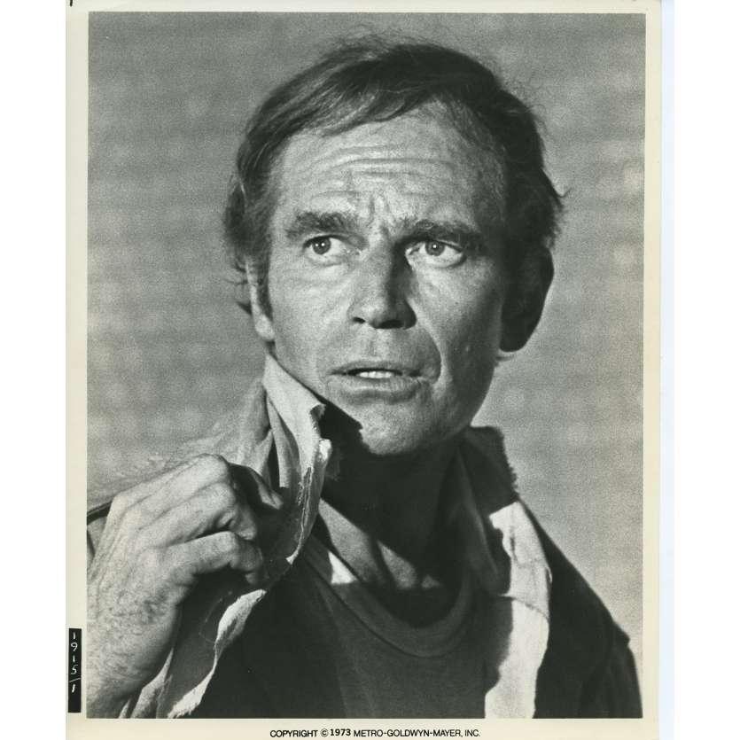 SOYLENT GREEN Movie Still N04 8x10 in. - 1973 - Richard Fleisher, Charlton Heston