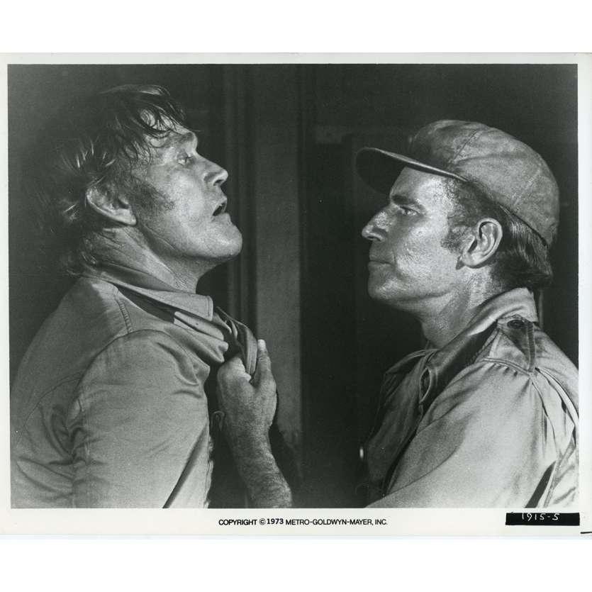 SOLEIL VERT Photo de presse N02 20x25 cm - 1973 - Charlton Heston, Richard Fleisher