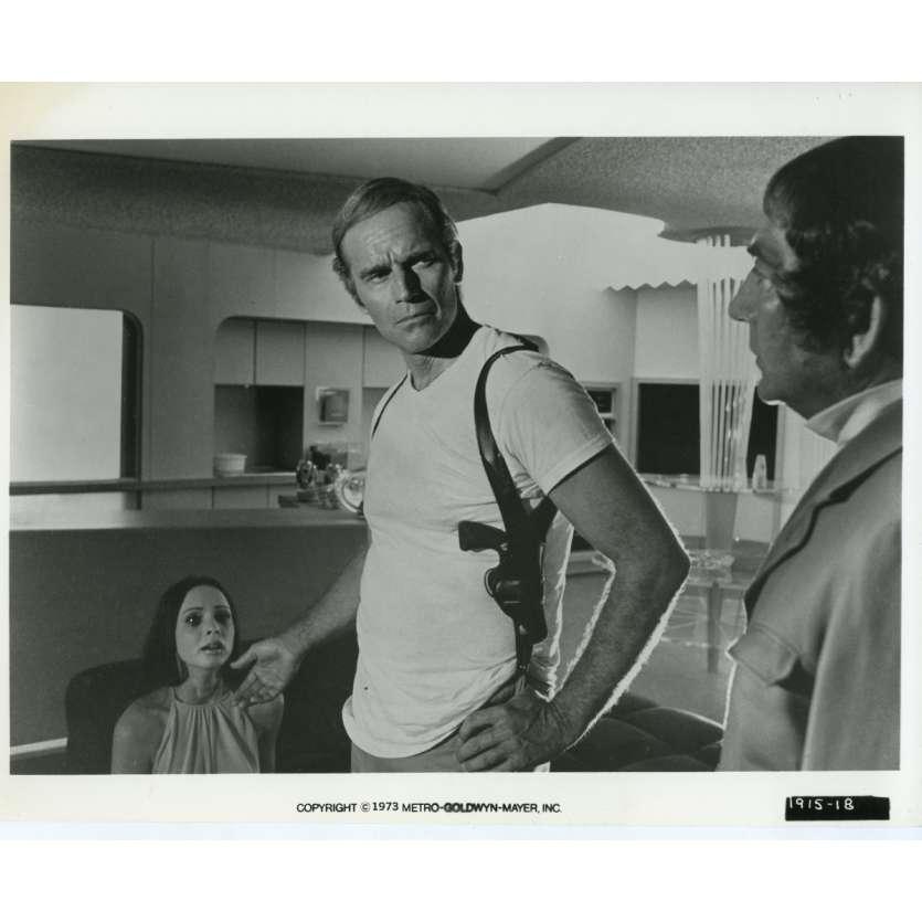 SOLEIL VERT Photo de presse N06 20x25 cm - 1973 - Charlton Heston, Richard Fleisher