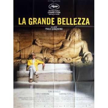 LA GRANDE BELLEZZA Affiche de film 120x160 - 2013 - Toni Servillo, Paolo Sorrentino