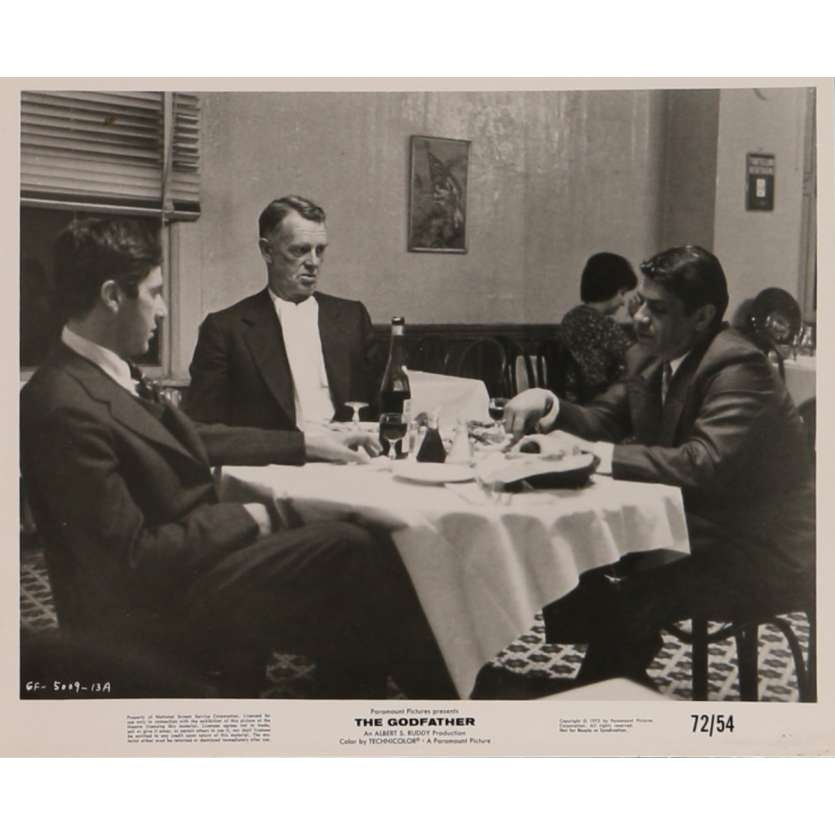 THE GODFATHER Movie Still N6 8x10 in. - 1972 - Francis Ford Coppola, Marlon Brando
