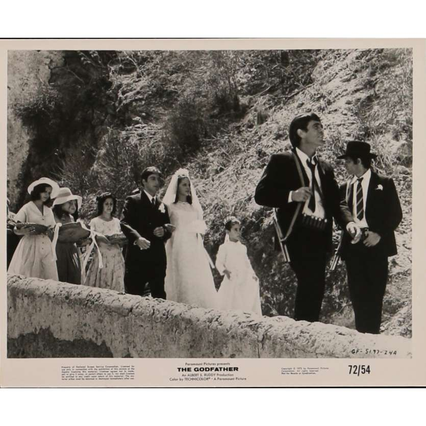 THE GODFATHER Movie Still N4 8x10 in. - 1972 - Francis Ford Coppola, Marlon Brando