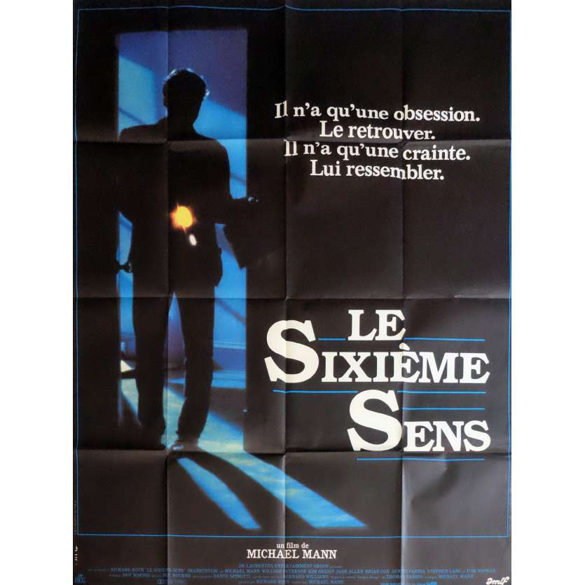 LE SIXIEME SENS Affiche de film 120x160 cm - 1986 - William Petersen, Michael Mann
