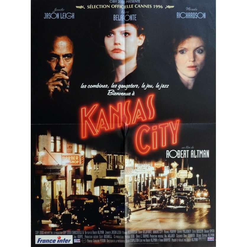 KANSAS CITY Affiche de film 60x80 cm - 1996 - Jennifer Jason Leigh, Robert Altman