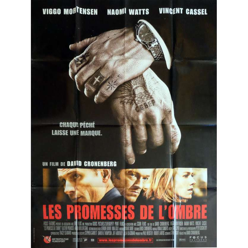 EASTERN PROMISES Movie Poster 47x63 in. - 2007 - David Cronenberg, Viggo Mortensen