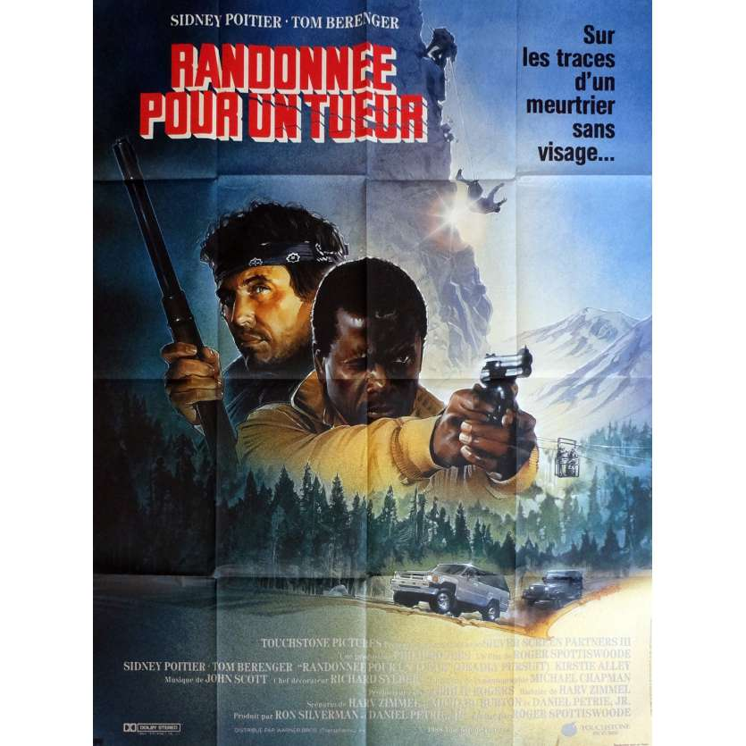 SHOOT TO KILL Movie Poster 47x63 in. - 1988 - Roger Spottiswoode, Tom Berenger