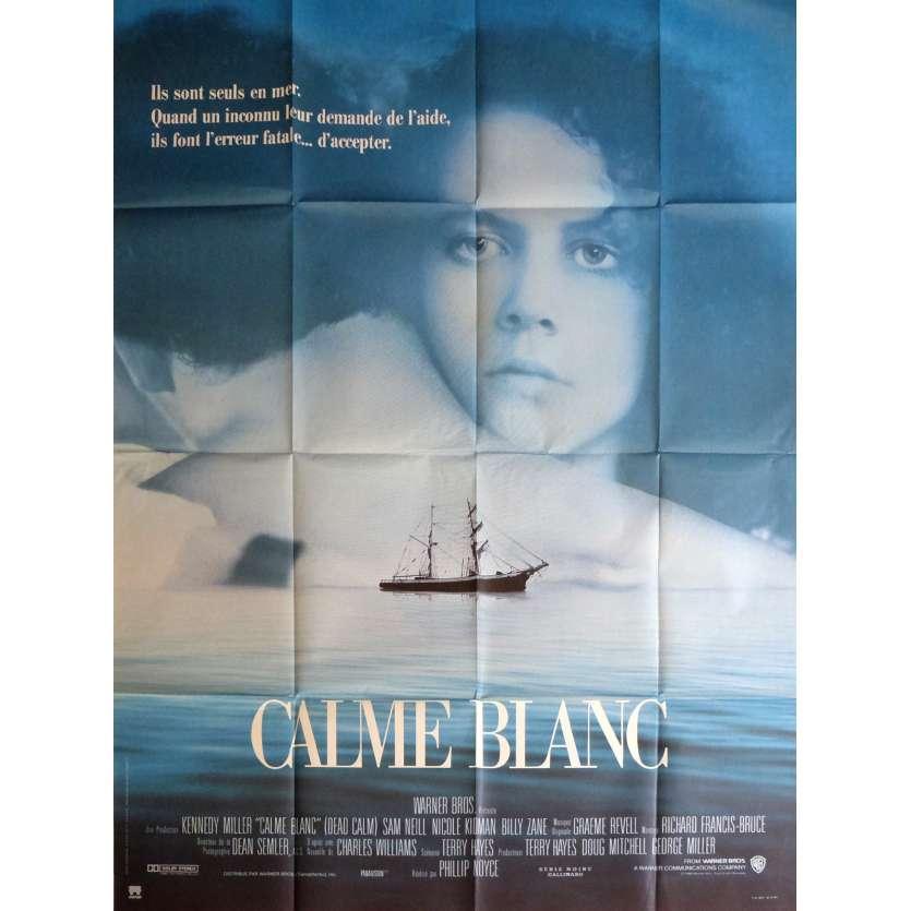 CALME BLANC Affiche de film 120x160 cm - 1989 - Nicole Kidman, Phillip Noyce