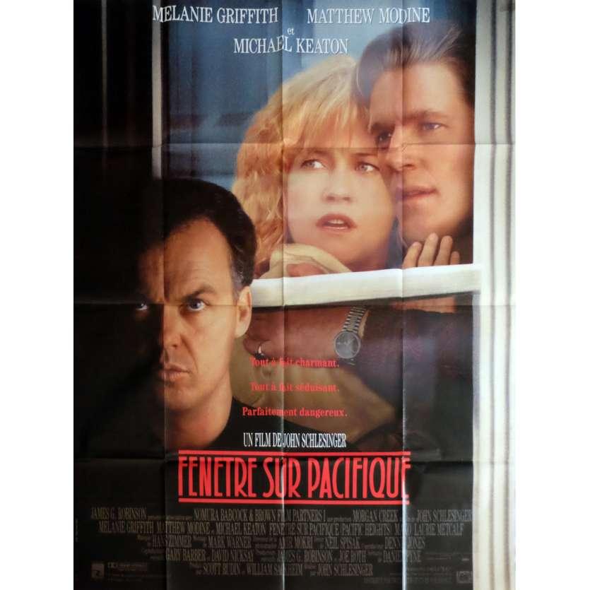 FENETRE SUR PACIFIQUE Affiche de film 120x160 cm - 1990 - Michael Keaton, John Schlesinger