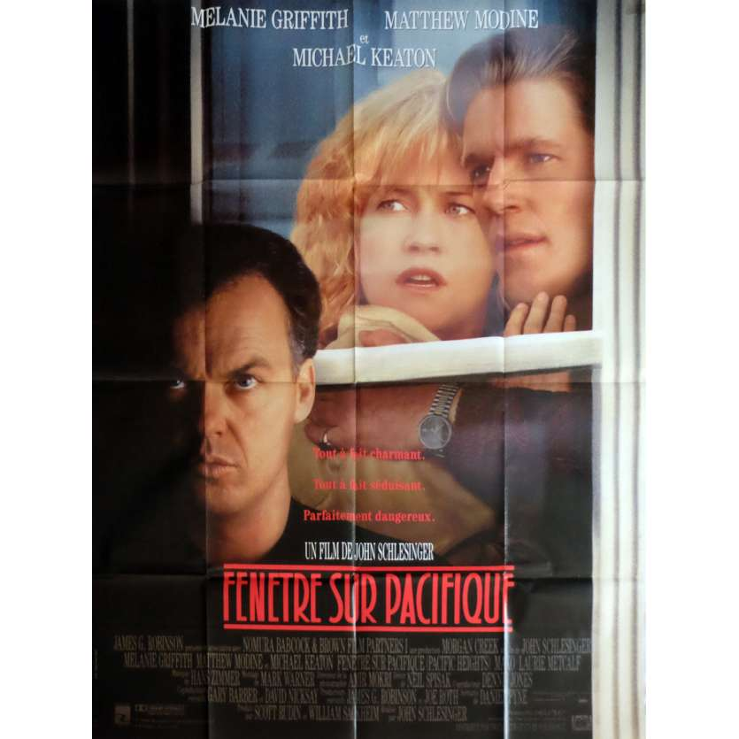 PACIFIC HEIGHTS Movie Poster 47x63 in. - 1990 - John Schlesinger, Michael Keaton