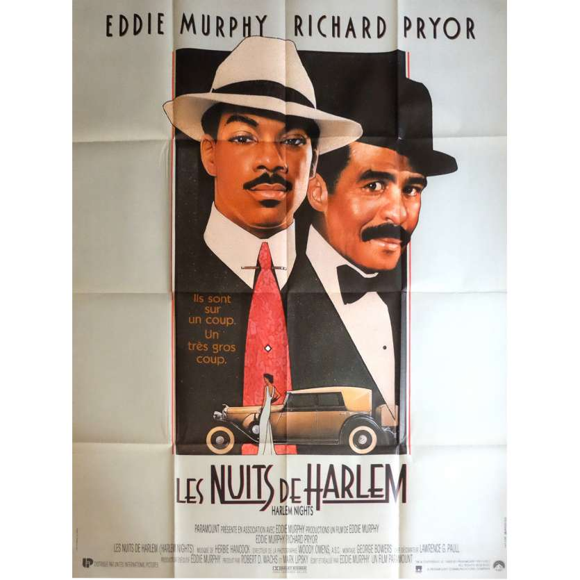 HARLEM NIGHTS Movie Poster 47x63 in. - 1989 - Eddy Murphy, Richard Pryor