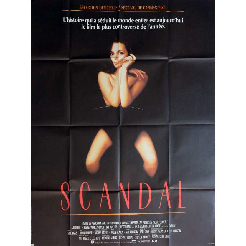 SCANDAL Movie Poster 47x63 in. - 1989 - Michael Caton-Jones, John Hurt