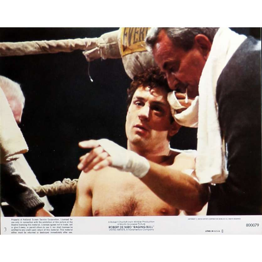 RAGING BULL Lobby Card N03 8x10 in. - 1980 - Martin Scorsese, Robert de Niro