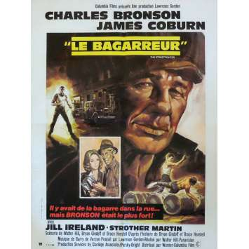 HARD TIMES Movie Poster 23x32 in. - 1975 - Walter Hill, Charles Bronson
