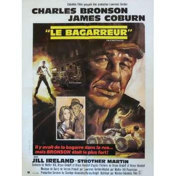 LE BAGARREUR Affiche de film 60x80 cm - 1975 - Charles Bronson, Walter Hill