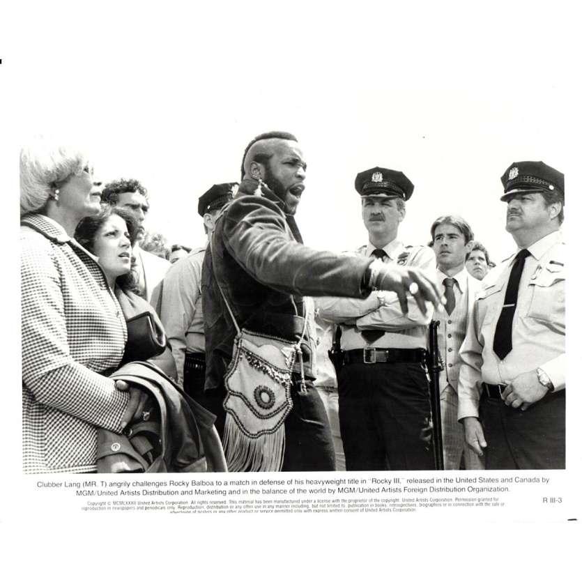 ROCKY 3 Movie Still N13 8x10 in. - 1982 - Sylvester Stallone, Mr. T