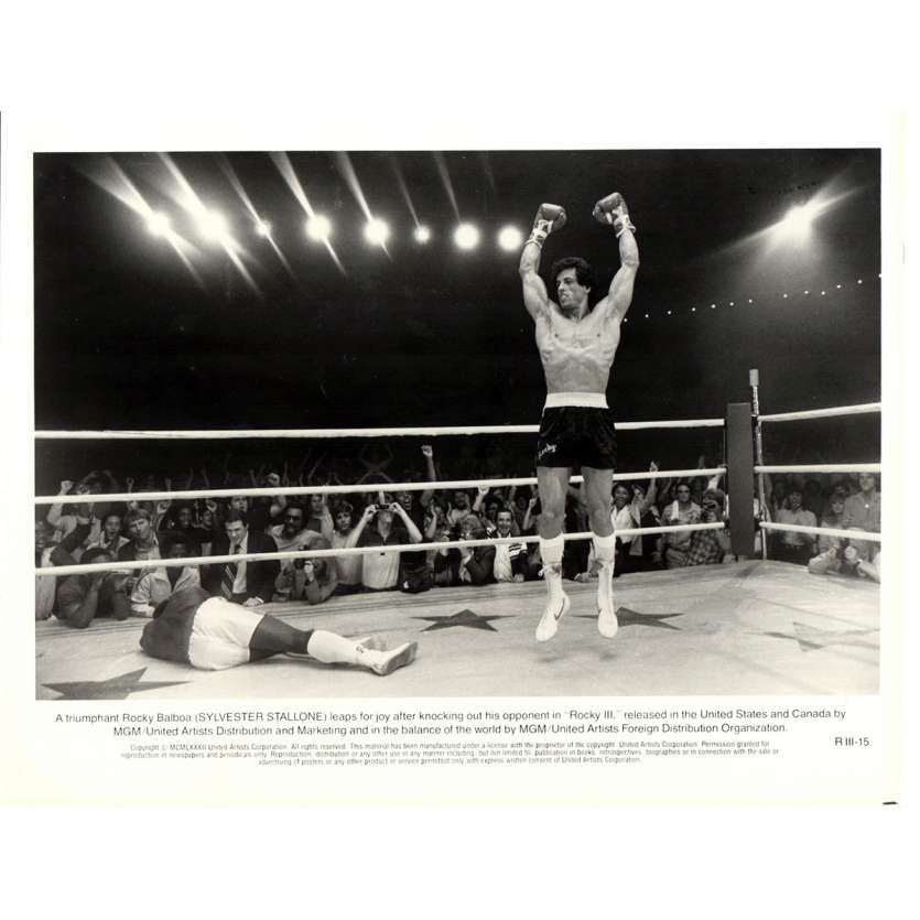 ROCKY 3 Photo de presse N03 20x25 cm - 1982 - Mr. T, Sylvester Stallone