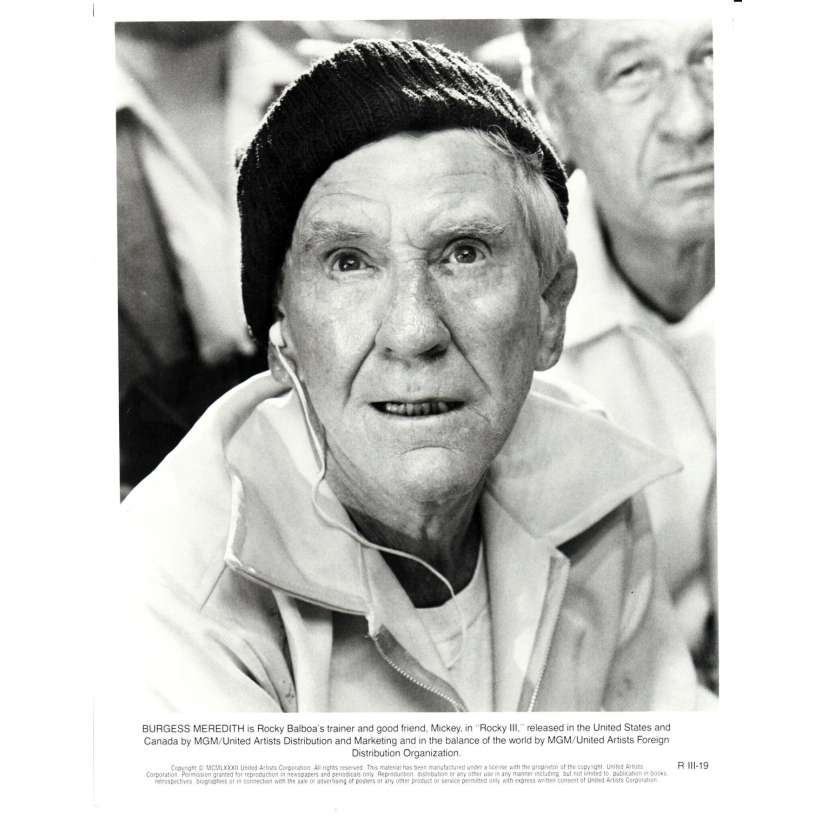 ROCKY 3 Photo de presse N01 20x25 cm - 1982 - Mr. T, Sylvester Stallone